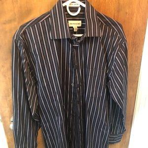 Men's dress shirt non iron Pronto -Uomo Medium